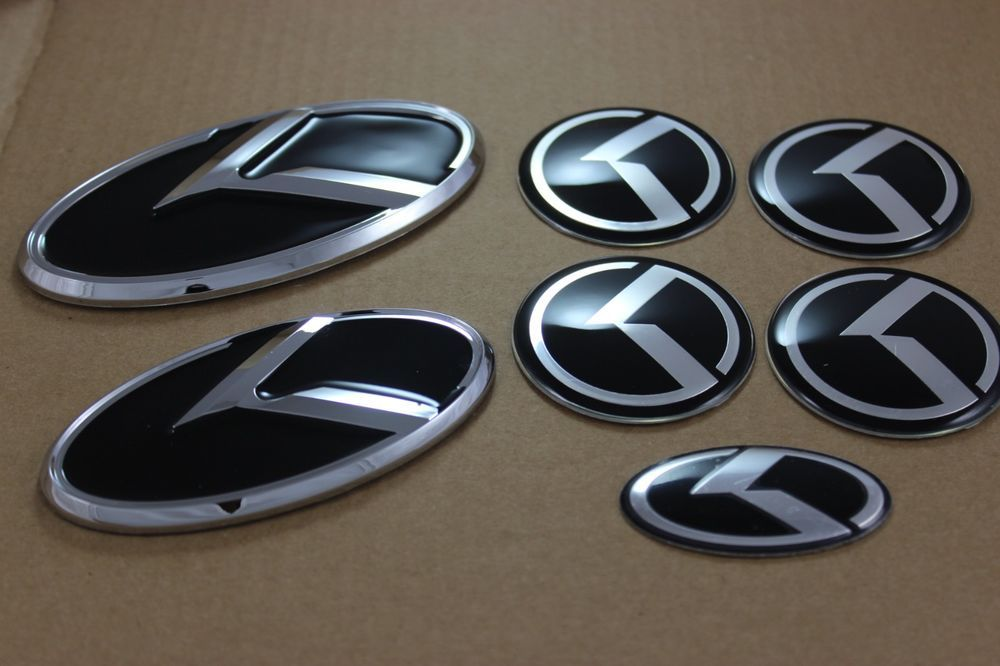 2014 Kia Soul 3D Emblem 7 piece set (With images) Kia