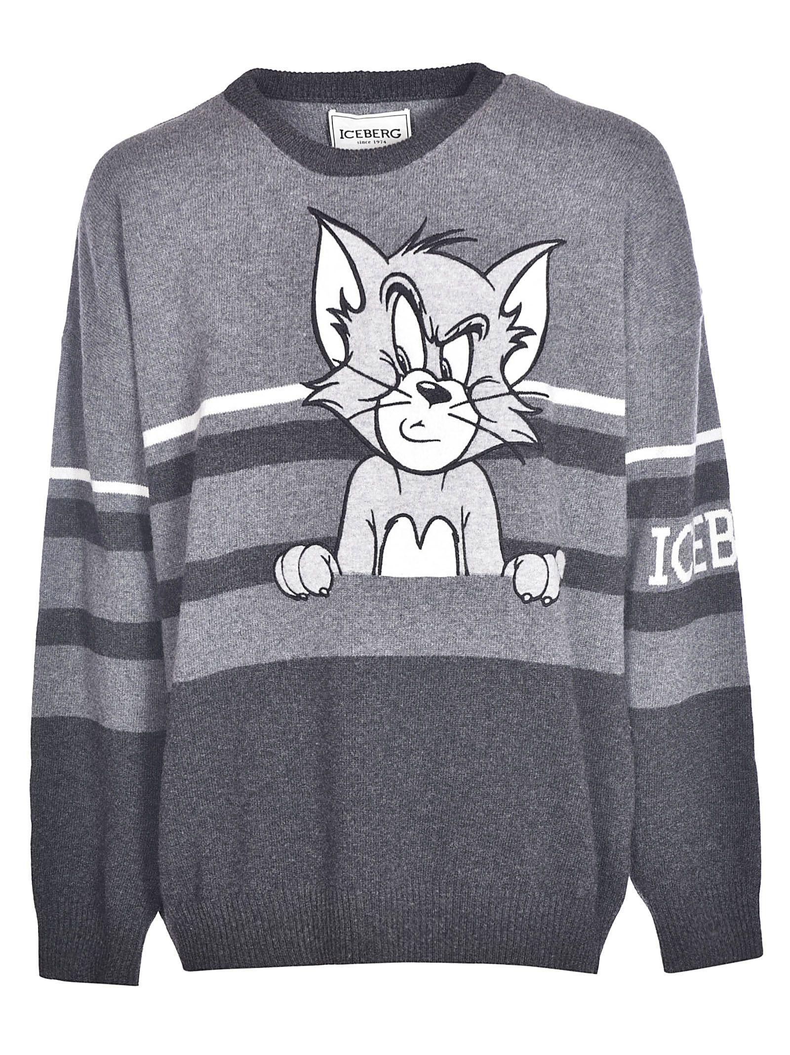 Iceberg Tom Cat Sweater Iceberg Cloth Cat Sweaters Sweaters Mens Sweatshirts [ 2136 x 1600 Pixel ]