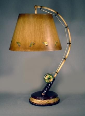 Fishing Rod Lamp Novelty Lamps Lamp Fishing Cabin Decor