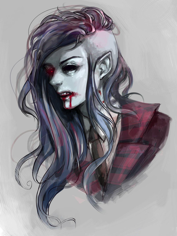 Marceline by zapekanka on deviantart adventure time pinterest