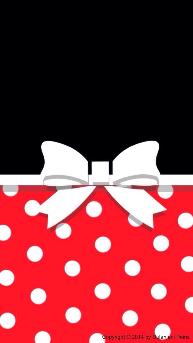 (Minnie pattern?)Girly Cute Sweet Wallpapers www.cocoppa