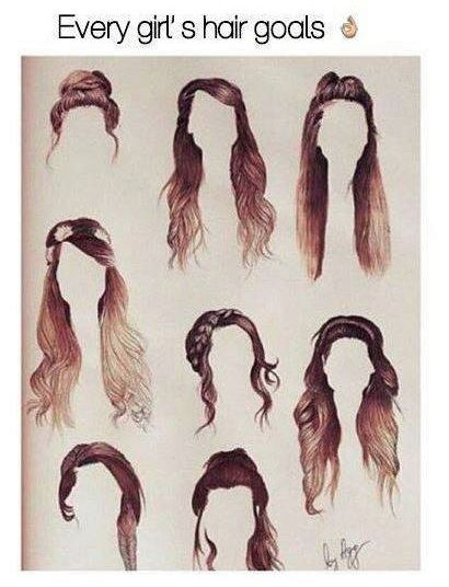 Pin By Lacey Fas On 6th Grade Zoella Hair Hair Sketch Hair Styles