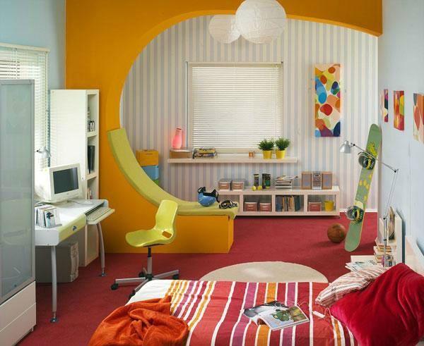 Kinderzimmer Komplett Gestalten U2013 Wenn Junge Und Mädchen Einen Raum Teilen  Müssen   Kinderzimmer Komplett Mit Gelbem Gewölbe Babyroom Kidsroom