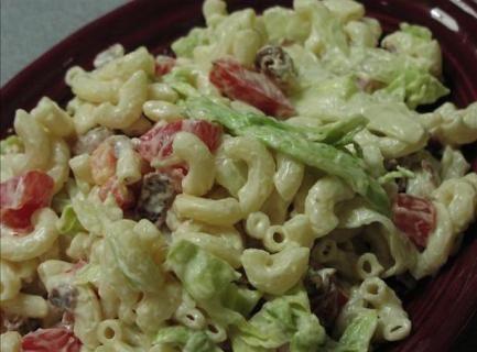 Weight Watchers BLT Pasta Salad Recipe