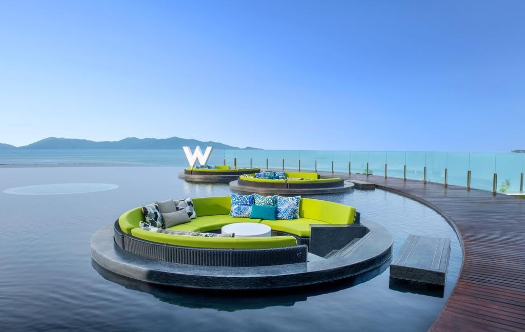 W Koh Samui Thailand Beach Honeymoon Honeymoon Resorts Best Honeymoon