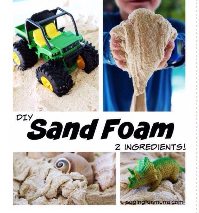 Sand Foam  Fun For Kids!! #Family #Kids #Trusper #Tip