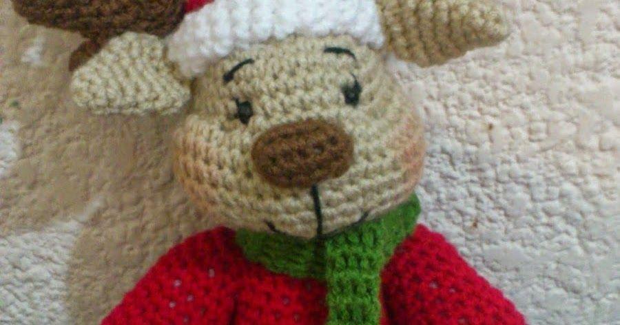 Paso a paso escrito para tejer un hermoso amigurumi de navidad a crochet (g ...