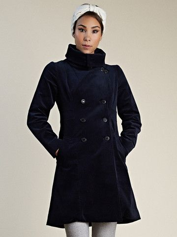I'd love to try one of the Vaute Couture coats! Cruelty-free/non-wool insulted with primaloft. <3  *PREORDER* Belden In Insulated Organic Moleskin - Black & Red - VauteCouture