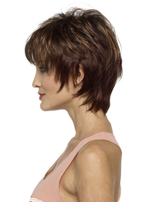 Pin By Crystal Bond On Hair Short Hair With Layers Short Layered Haircuts Short Hair Styles