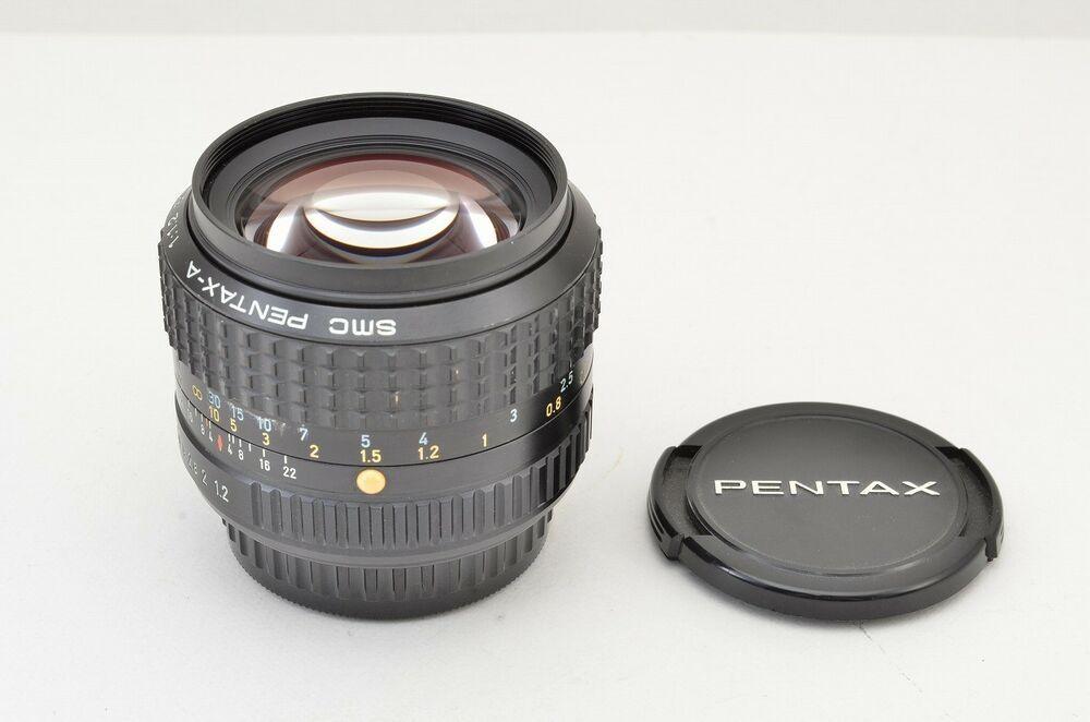 Mint Smc Pentax A 50mm F1 2 Mf Objectif Pour K Support 181218a Stuff To Buy Category Mint