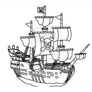 Image result for pirate ship drawing easy  ship concept