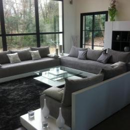 Salon Marocain à Paris  Hannach.com Salon Oriental Moderne, Living Room  Windows,