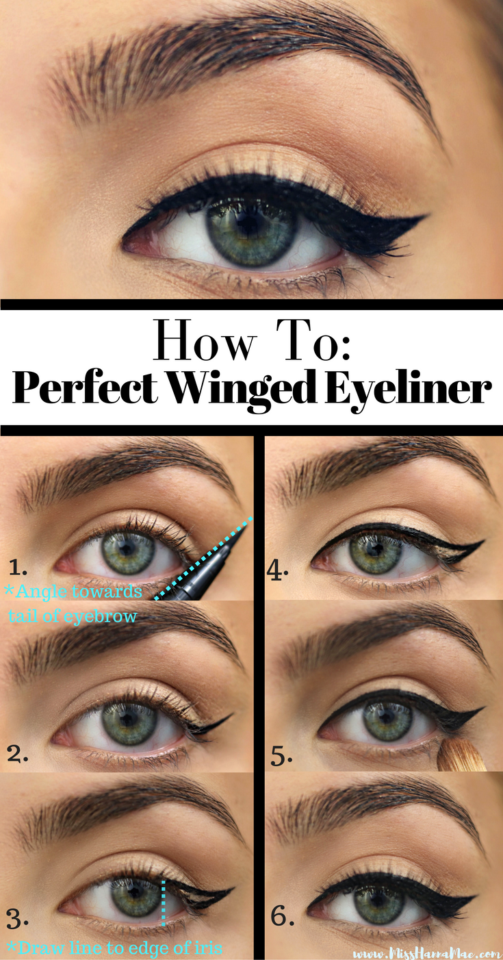 Winged Eyeliner That Compliments Neutral Makeup Video