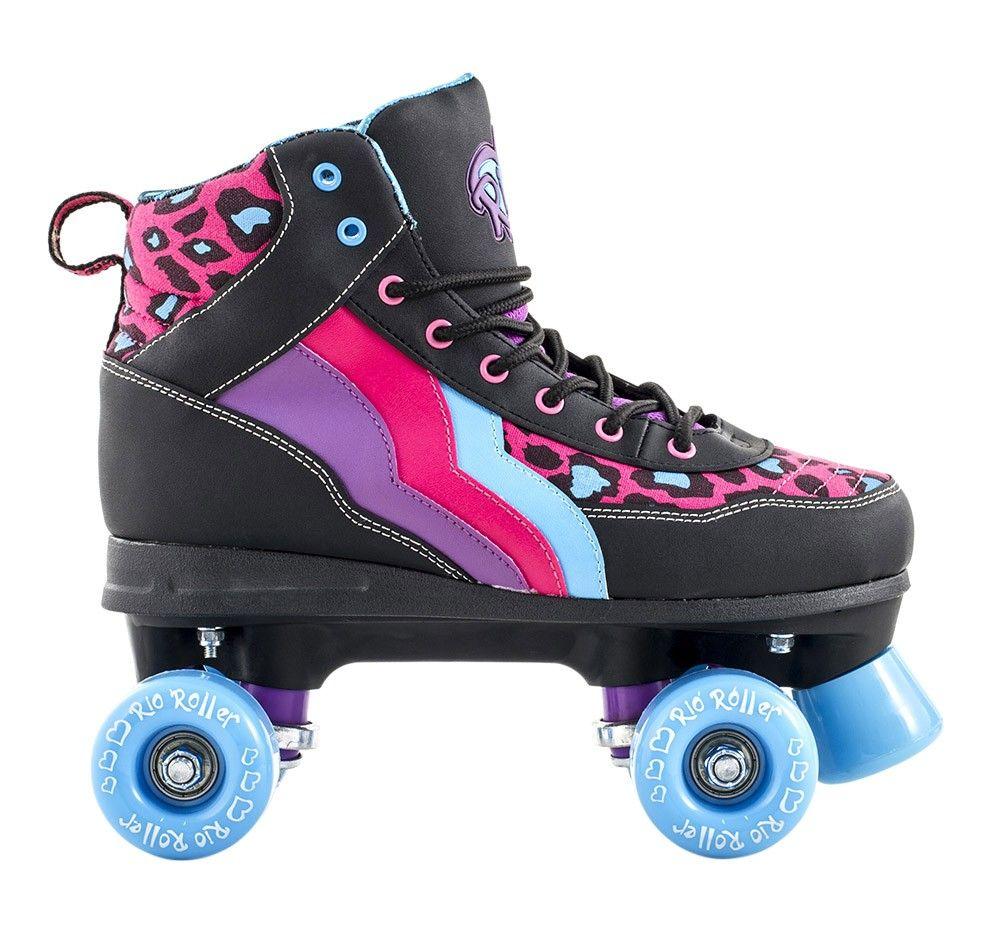 Rookie roller skates amazon - Rio Roller Leopard Quad Skates