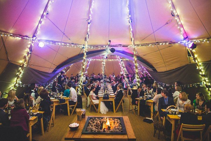 49 Winter Tipi Wedding By S6 Photography
