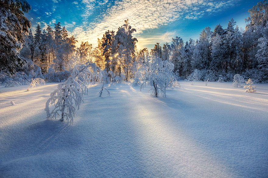 ... Завораживающие зимние пейзажи ... Источники Вдохновения ... - Ярмарка Мастеров - ручная работа, handmade