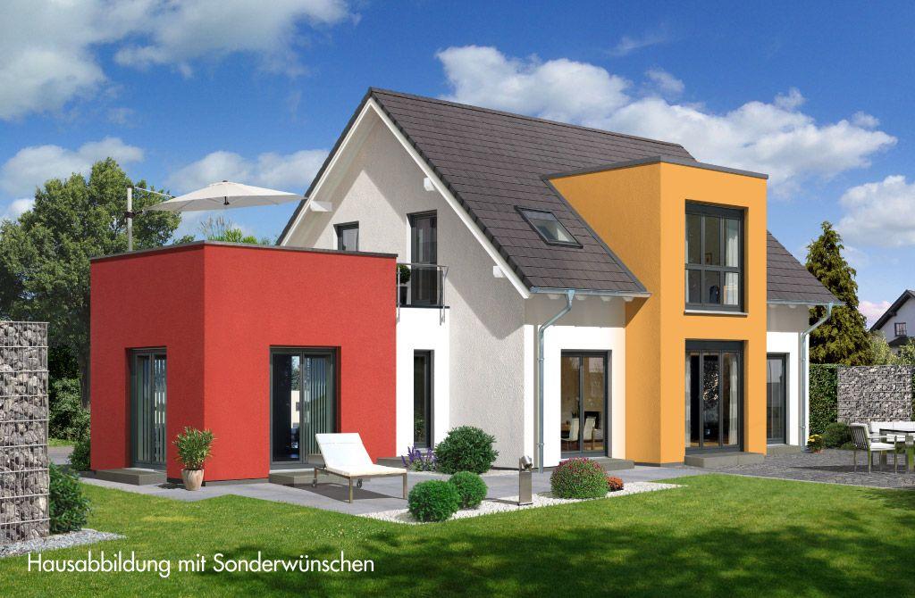Musterhaus modern flachdach  Modern und elegant wirkt die großzügige Architektur des Prestige 3 ...