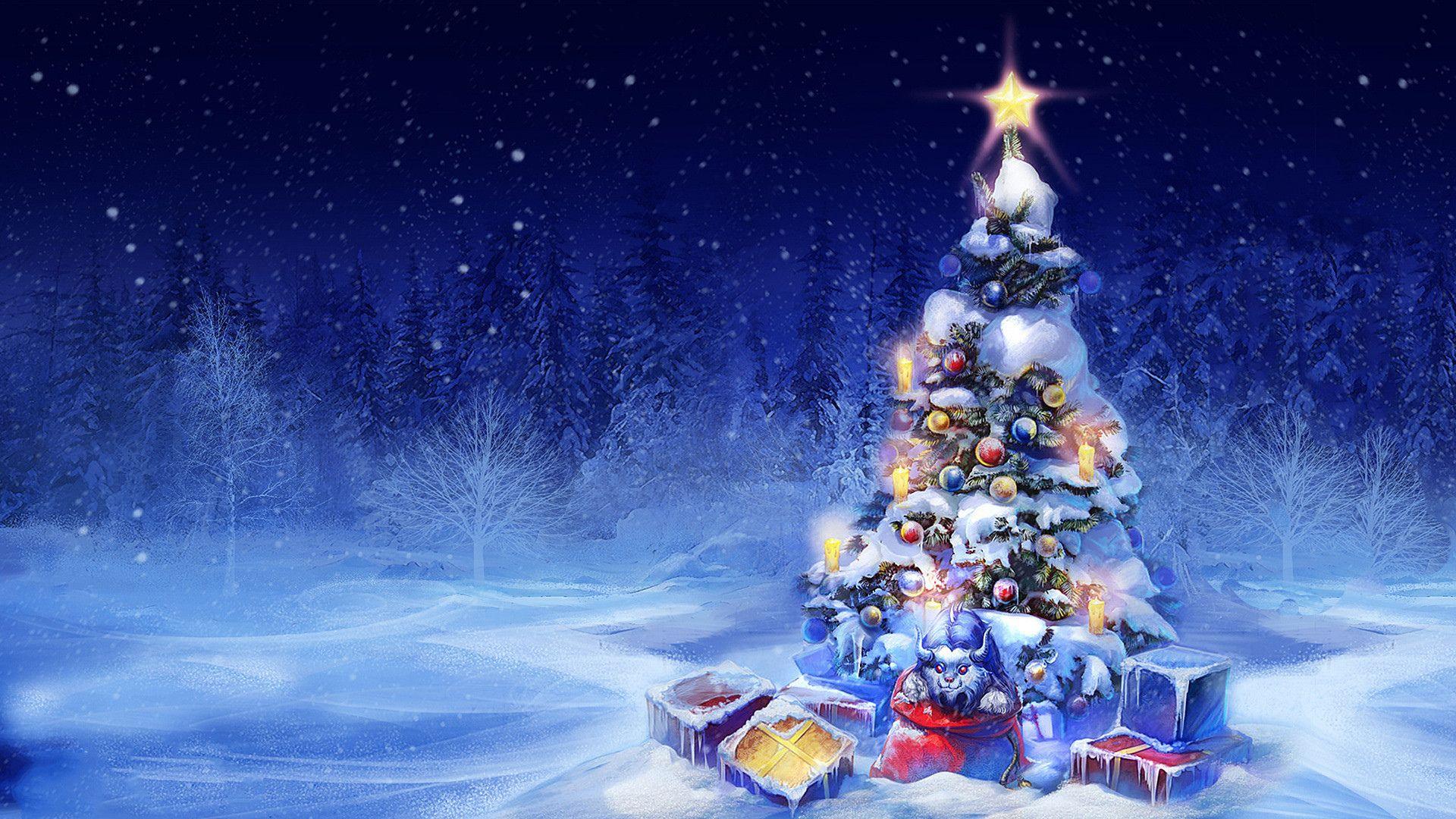Fond D écran Vacances De Noël: Vacances Noël Vacances Hiver Snow Christmas Tree Fond D