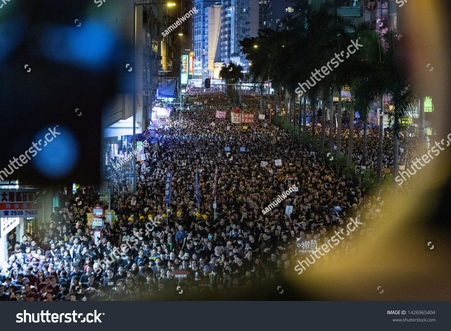 Hong Kong June 16th 2019 Anti Extradition Bill Protest With 2 Millions People In Hong Kong Protest Demands The Law Amen Stock Photos Photo Editing Abstract