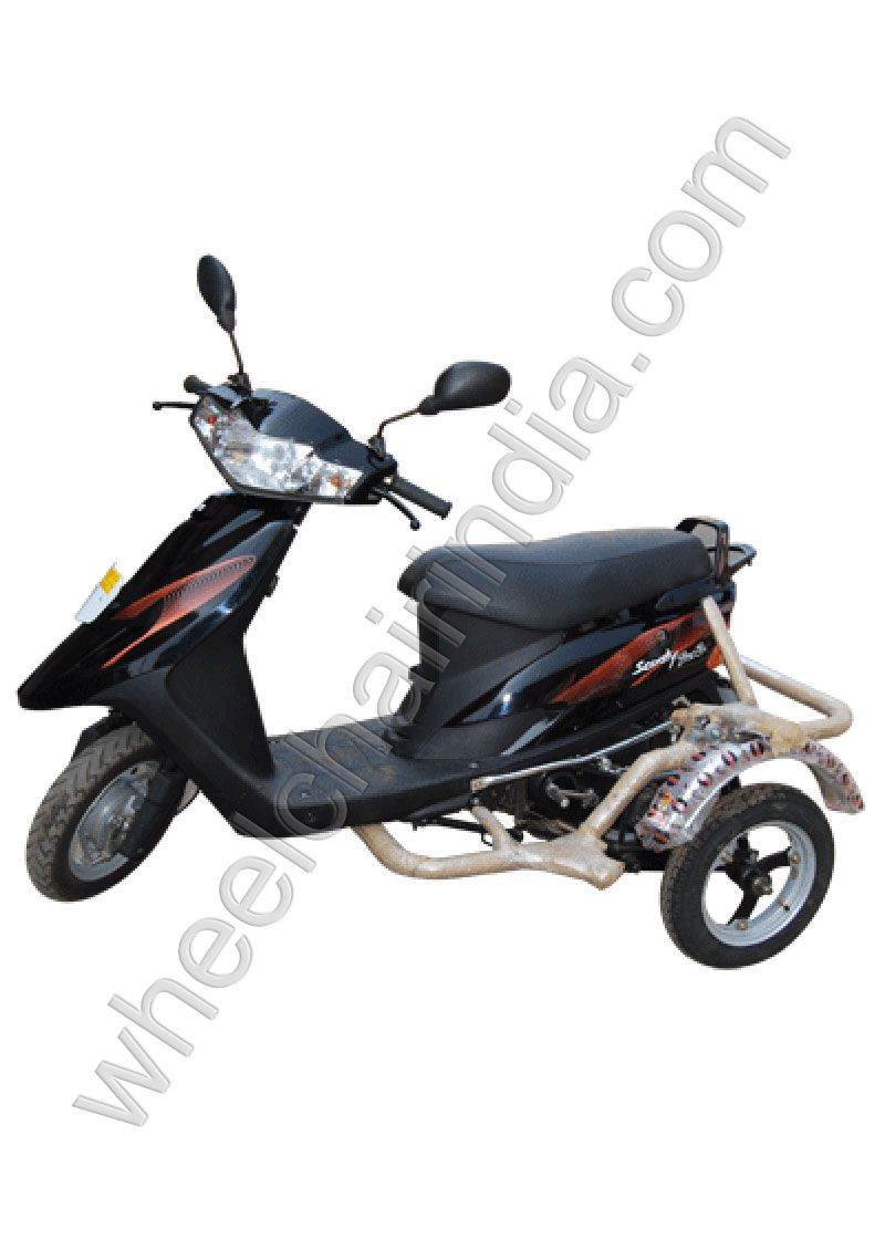 Side Wheel Attachment Scooty Pep Plus Price and Item Code:   Item Code: WCI-63 MRP: Rs 12500 Our Price: Rs 10500 Net Price: Rs 10290( Apply Coupon Code 'MSW2365' Get 2% Discount )