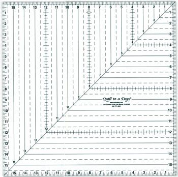 Paper Ruler Template Free | table runners | Pinterest | Squares ... : quilt in a day ruler - Adamdwight.com