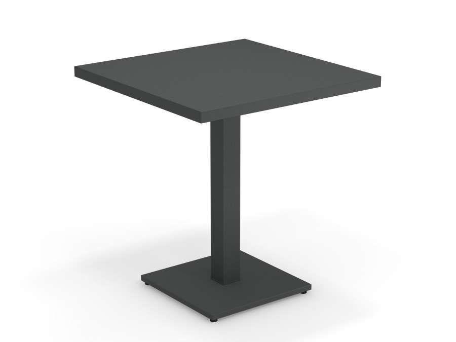 Emu 471 Quadratischer Garten Tisch Round Mit Mittel Fuss 70 X 70