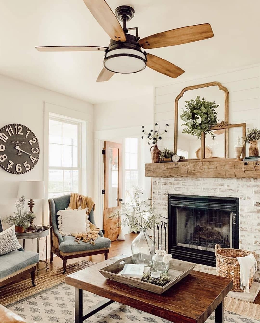 Pin By Lewis Acres Homestead Lifest On Living Room In 2020 Farm House Living Room Home Living Room Home Decor