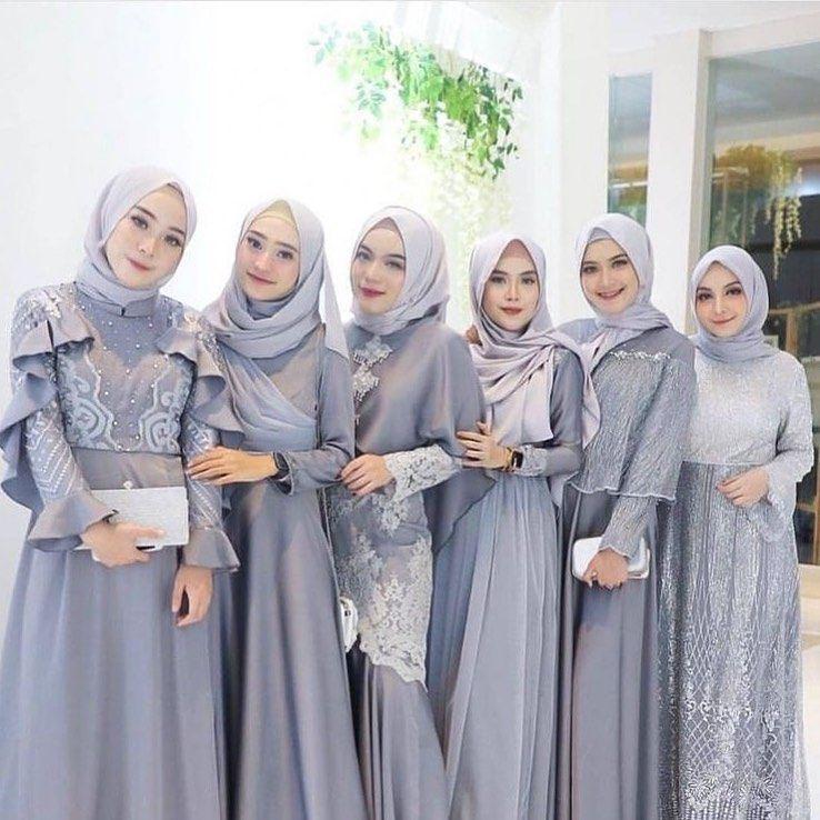 Bridesmaid Dresses Hijab Muslim Simple Bridesmaid Dresses Hijab Style Bridesmaid Dresses Hijab Maroon Gaun Pakaian Pernikahan Gaun Perempuan