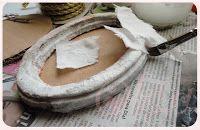 Como hacer un marco ovalado con cartón ♥♥el tocador de Cenicienta