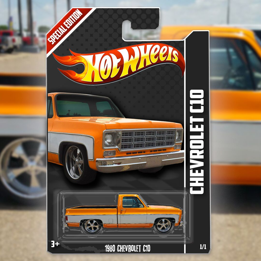 Sweet Photoshop Hot Wheels Version Of My Truck
