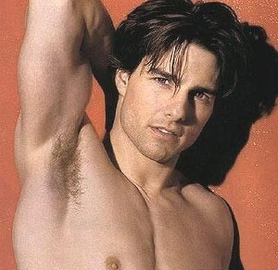 naked Tom cruise
