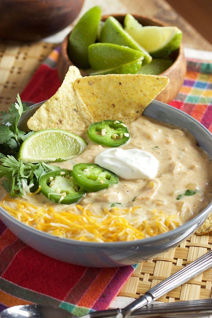 Creamy White Chicken Chili Recipe - The Suburban Soapbox