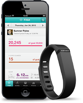 Fitbit Flex...should hopefully be getting mine this