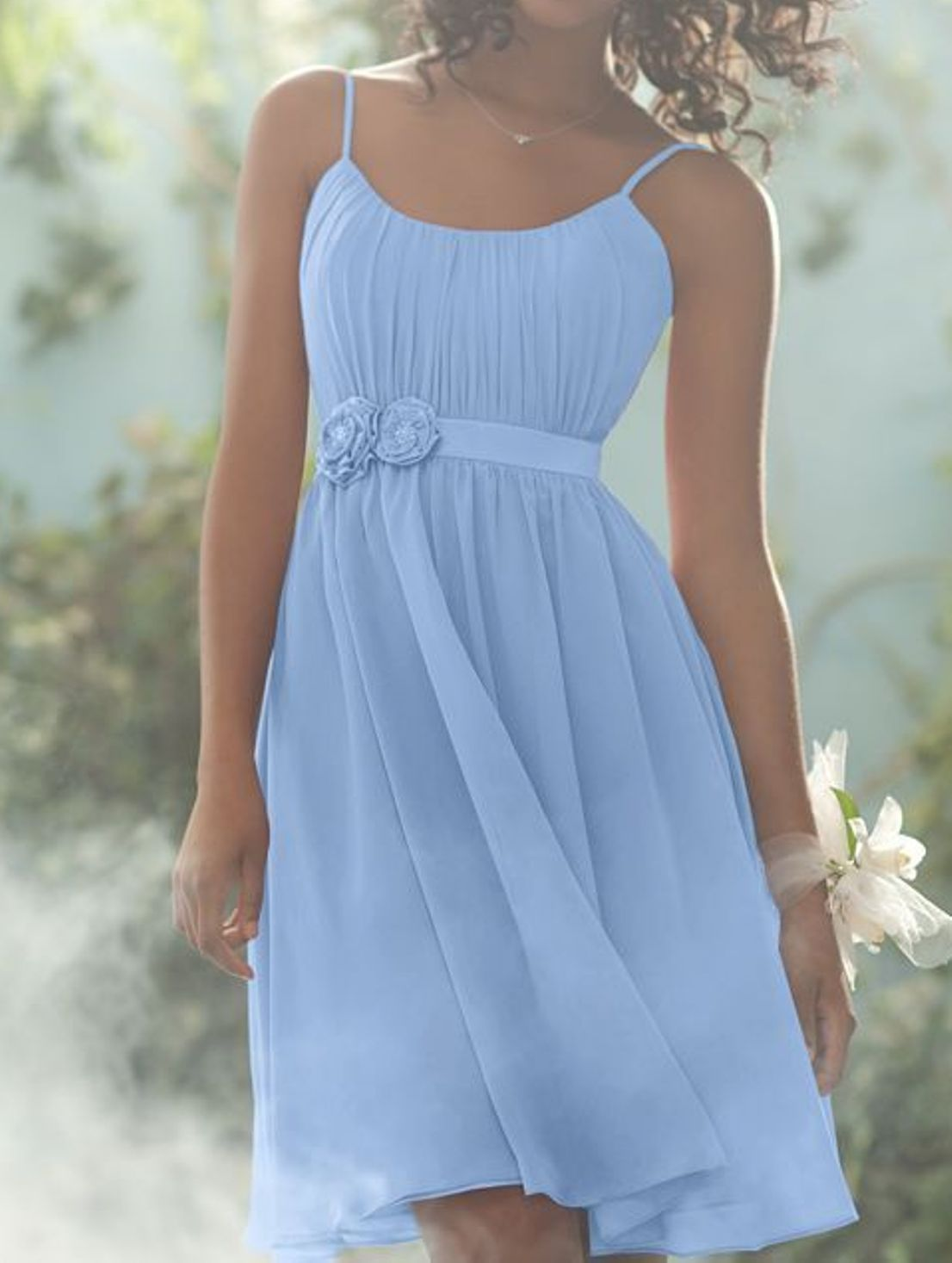 Blue junior bridesmaid dresses dresses pinterest for Dresses for juniors for weddings