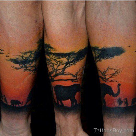 african tree tattoo tattoo ideas pinterest african tree rh pinterest com african tree tattoo meaning south african tree tattoo