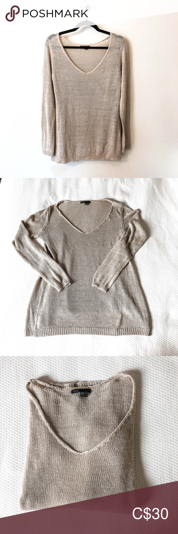 Vince Sandy Sweater Good condition with a light pull under