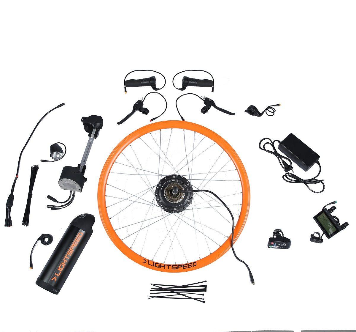 Electric Bicycle Conversion Kit DIY Electric Cycle Kit