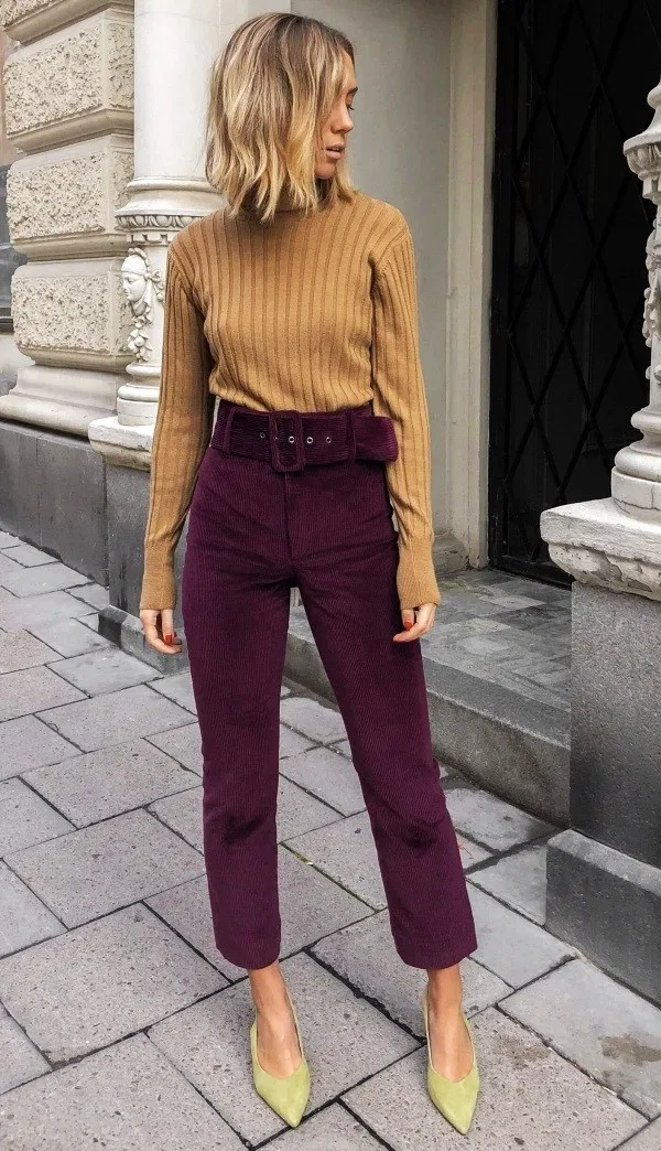 40 Trending Work Outfits To Wear This Fall #fallworkoutfits
