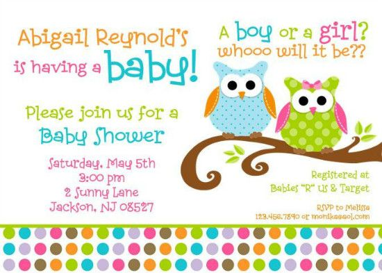 Unique Owl Baby Shower Favors | Baby Shower Invitation Wordings For An Owl  Baby Shower
