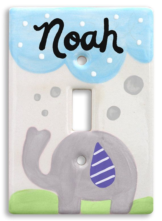 Personalized hand painted light switch cover switch plate great personalized hand painted light switch cover switch plate great baby gift personalized babys negle Gallery