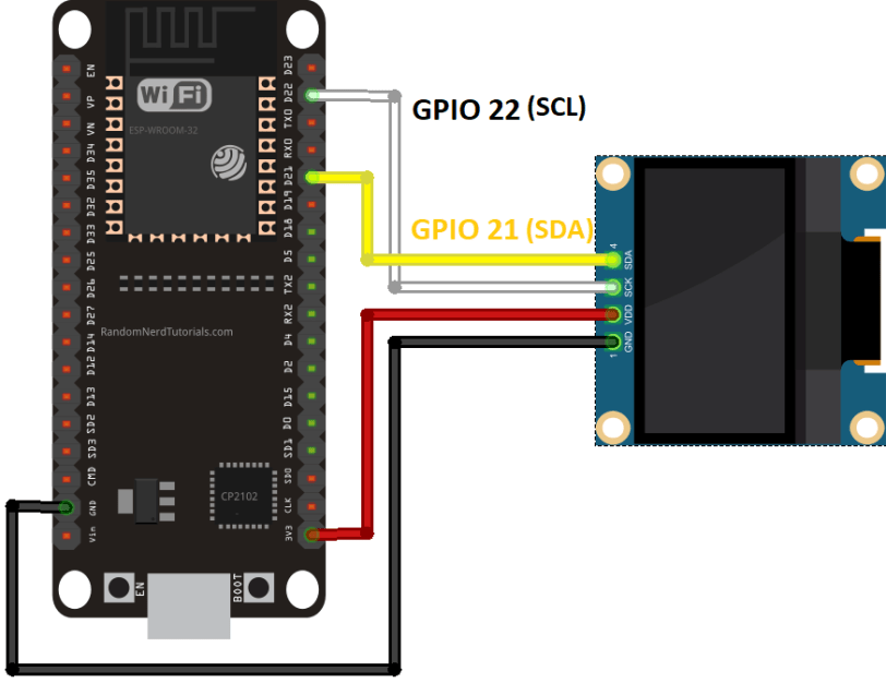 Esp32 Ssd1306 Oled Display Arduino Ide Automacao
