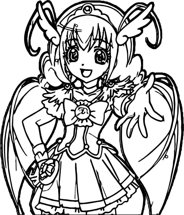 Glitter Force Coloring Pages Best Coloring Pages For