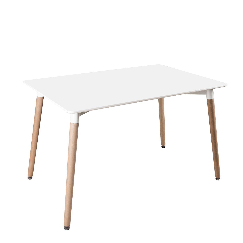 Mesa de dise o de estilo n rdico tablero blanco de mdf de - Tablero blanco ...