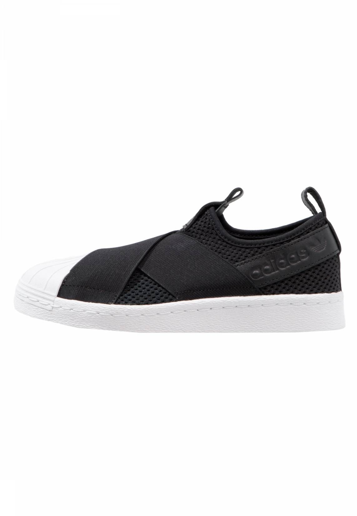 best service bc314 46d13 adidas Originals. SUPERSTAR SLIP ON - Sneakers basse - core black footwear  white.