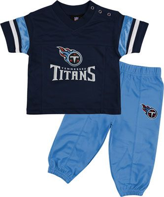 info for 6fbe6 fb6f0 Tennessee Titans Infant Short Sleeve Football Jersey & Pant ...