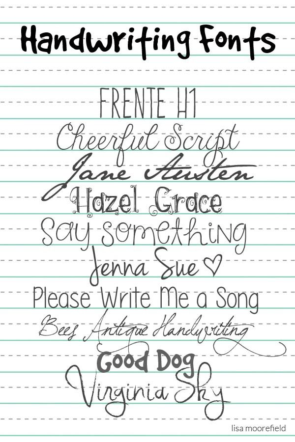 write a song for me font