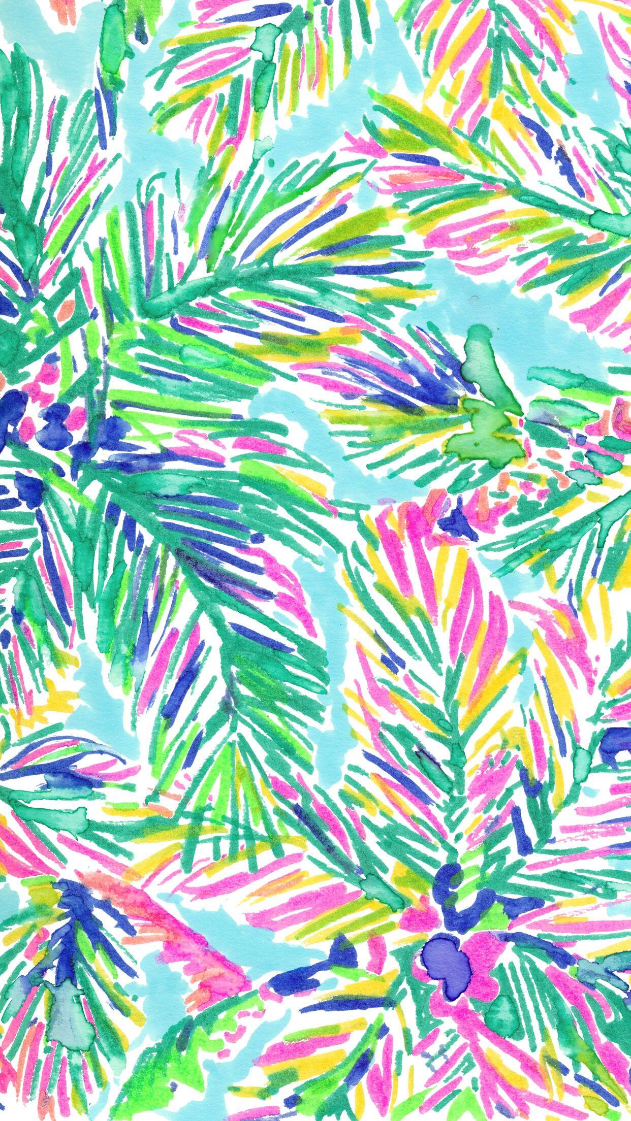 big sale 1a62e 23f5c patterns.quenalbertini: Tropical pattern | Wallpaper | Lilly ...