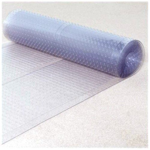 Ottomanson Clear Plastic Runner Rug Multigrip Carpet Protector
