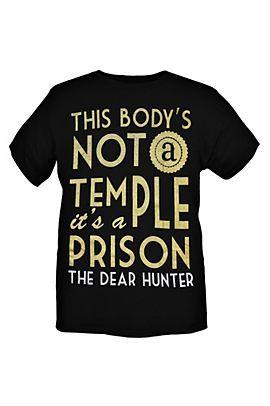 Music T Shirts Clothing Dear Hunter T Shirt Music Tshirts