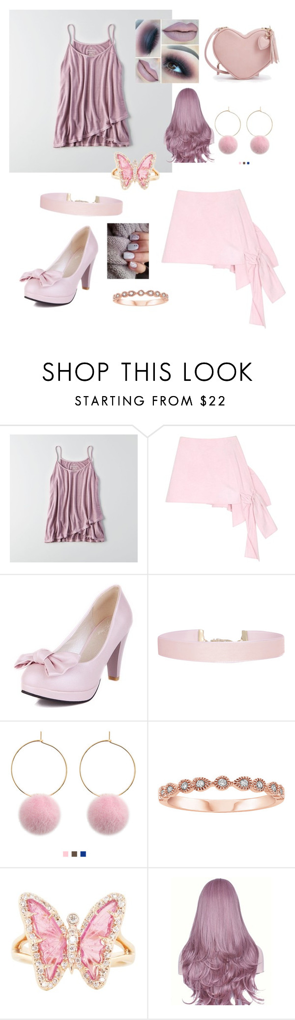 """Untitled #233"" by erinn-hutchins ❤ liked on Polyvore featuring American Eagle Outfitters, Danielle Romeril, Humble Chic and Luna Skye"